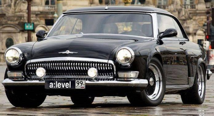 Volga V12 Coupe - Stone Forest