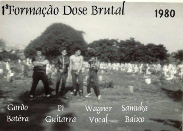 Dose Brutal Brazil punks - Stone Forest