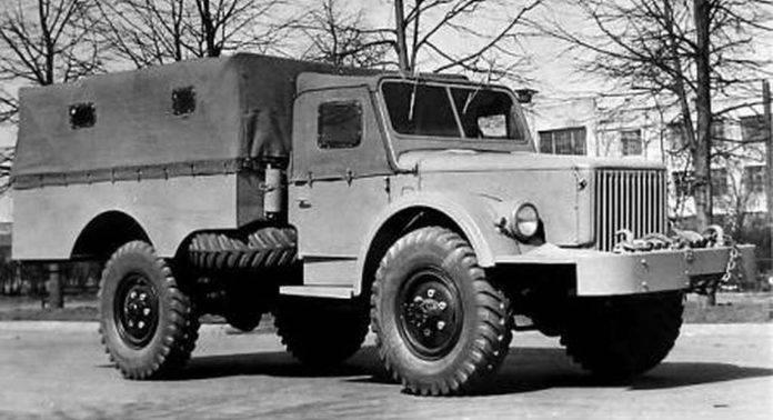 ГАЗ-68 - Stone Forest
