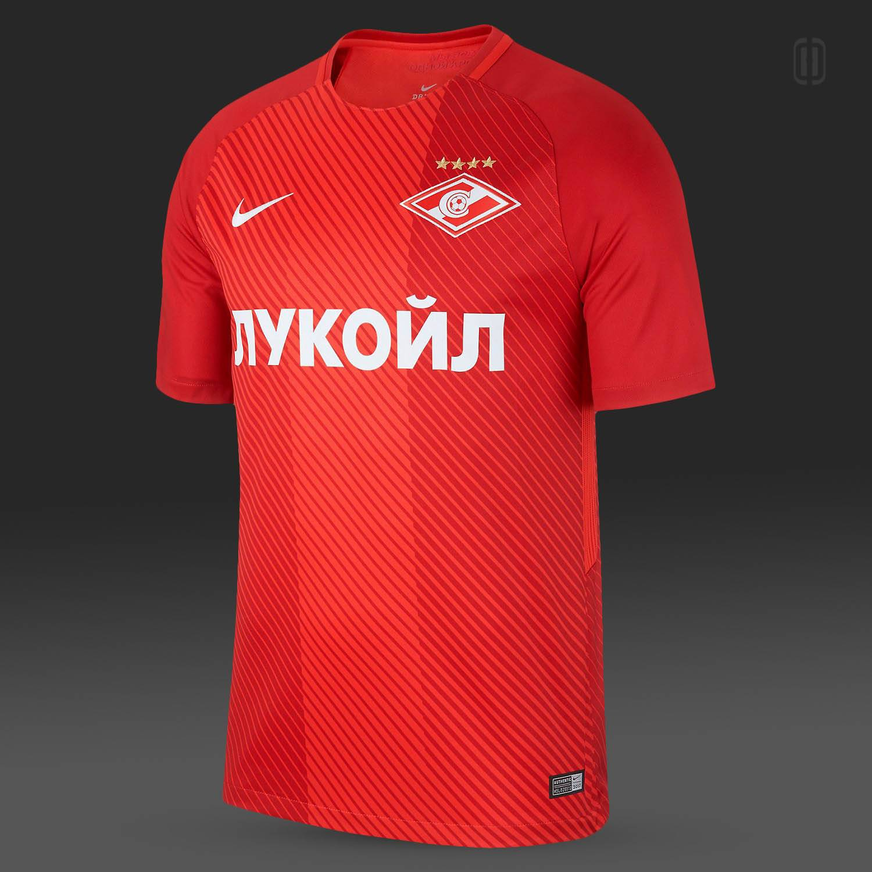 Форма ФК Спартак Москва 2017 2018 - Stone Forest