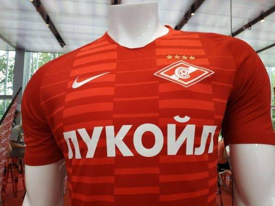 Домашняя форма ФК Спартак Москва 2018 2019 - Stone Forest