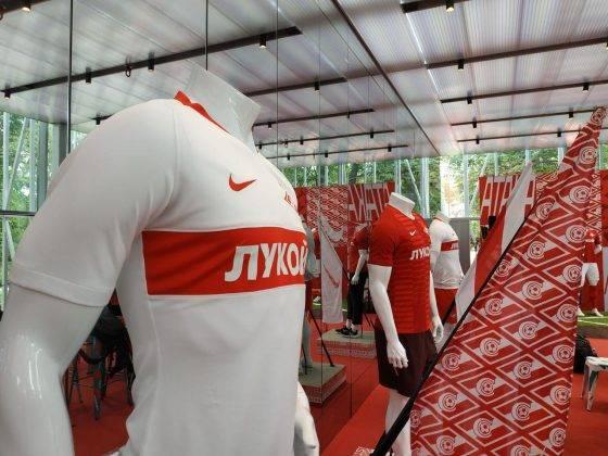 Презентация формы ФК Спартак Москва 2018 2019 - Stone Forest