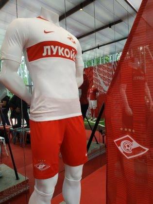 Премьера формы ФК Спартак Москва 2018 2019 - Stone Forest