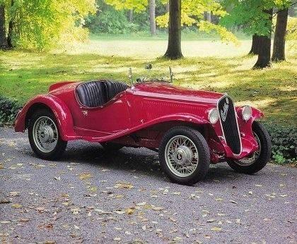 Автомобиль Fiat 508 - Stone Forest