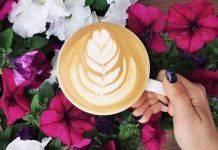 Букет в кофе
