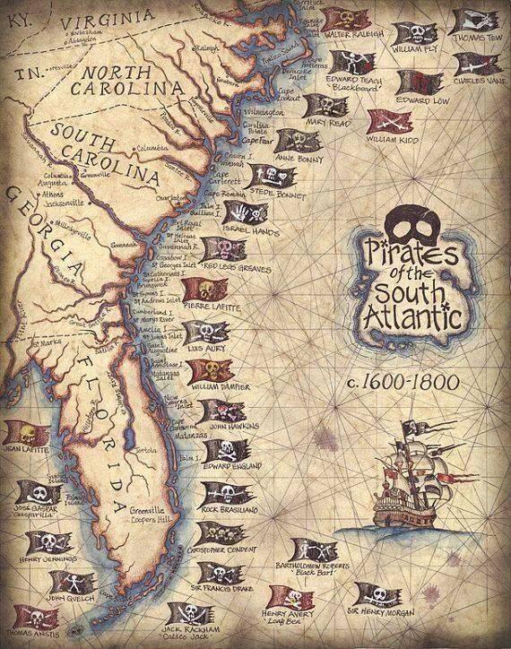 Пираты Веселый Роджер - Stone Forest