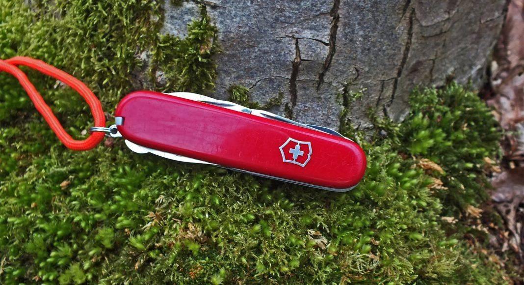 Нож Victorinox Huntsman - Stone Forest