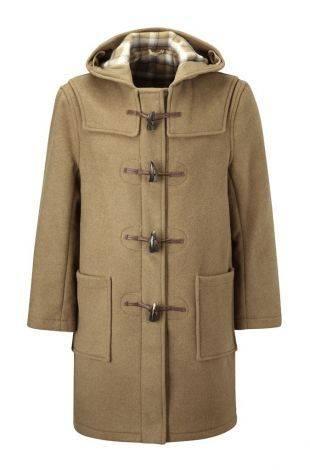 Original Montgomery Classic Duffle Coat - Stone Forest