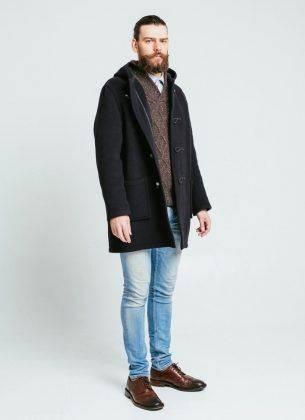 Пальто дафлкот - Stone Forest