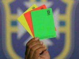 Зеленая карточка в футболе - Stone Forest