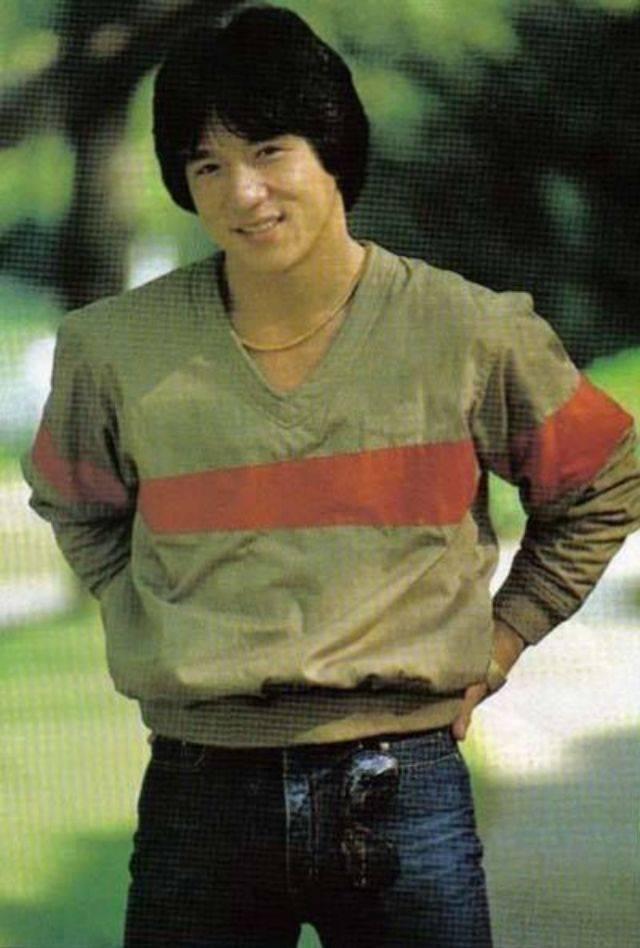 Молодой джеки чан фото