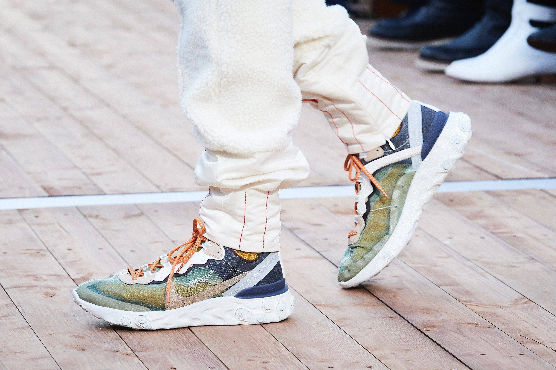 Кроссовки Nike React Element 87 — инновации, сравнимые с Air Max
