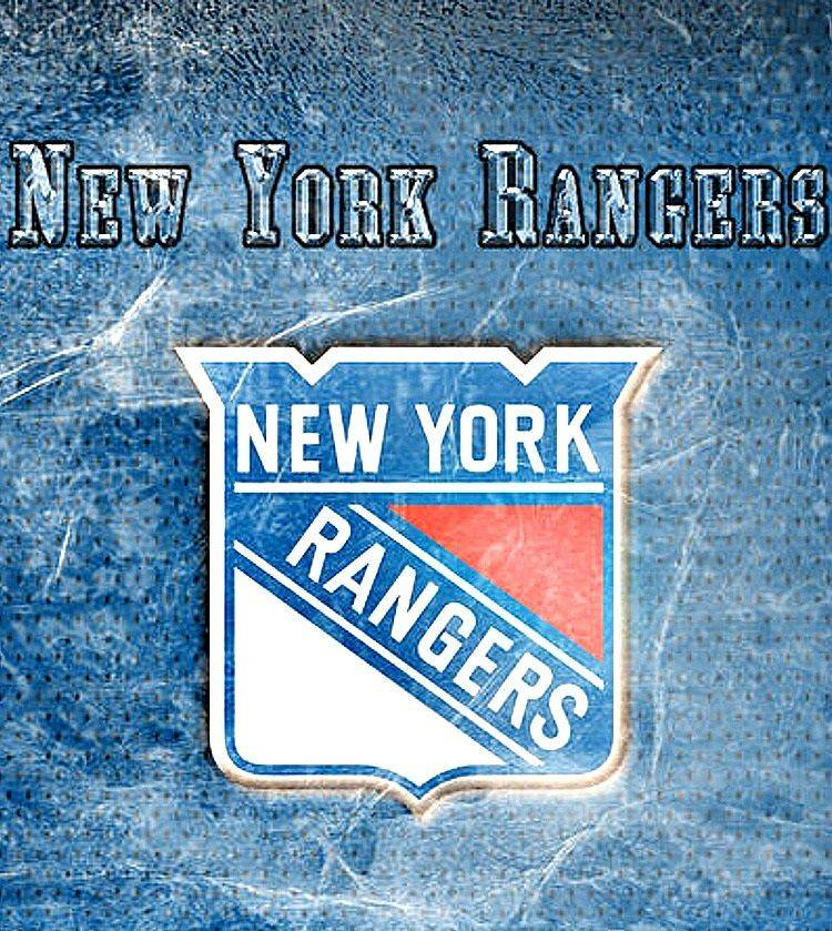 Logo New York Rangers - Stone Forest