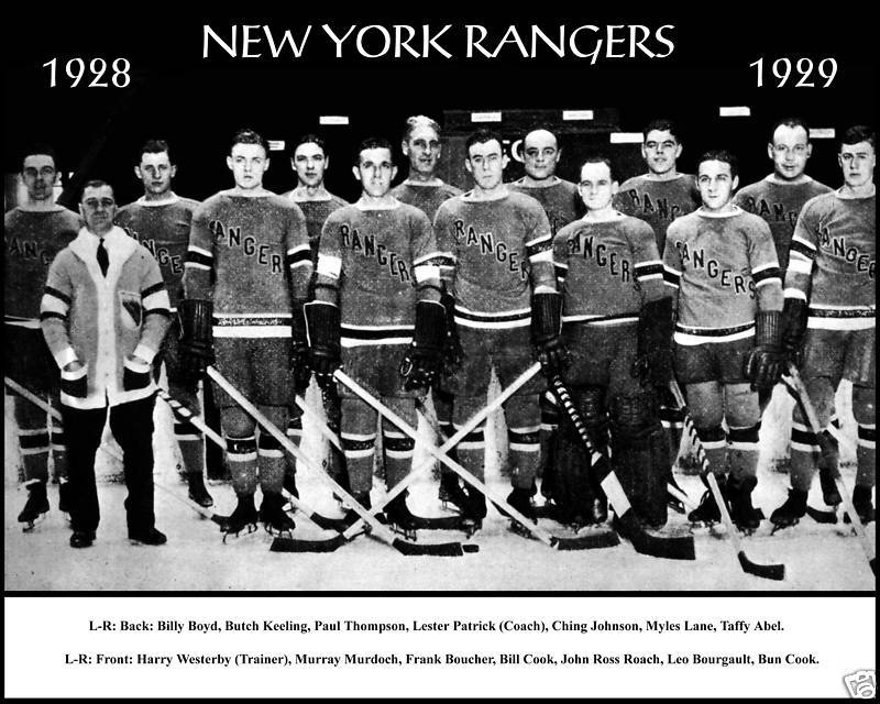 New York Rangers 1928 - Stone Forest