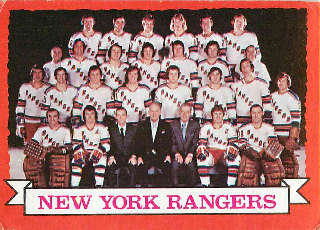 New York Rangers 1972 - Stone Forest