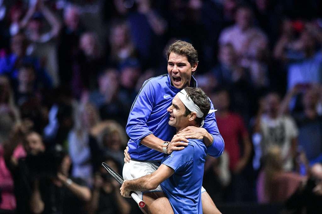 Теннисист Роджер Федерер на вершине рейтингов