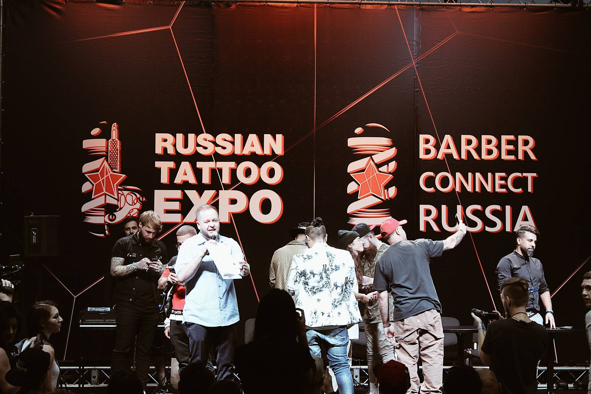 BARBER CONNECT RUSSIA 2018 Сокольники - Stone Forest