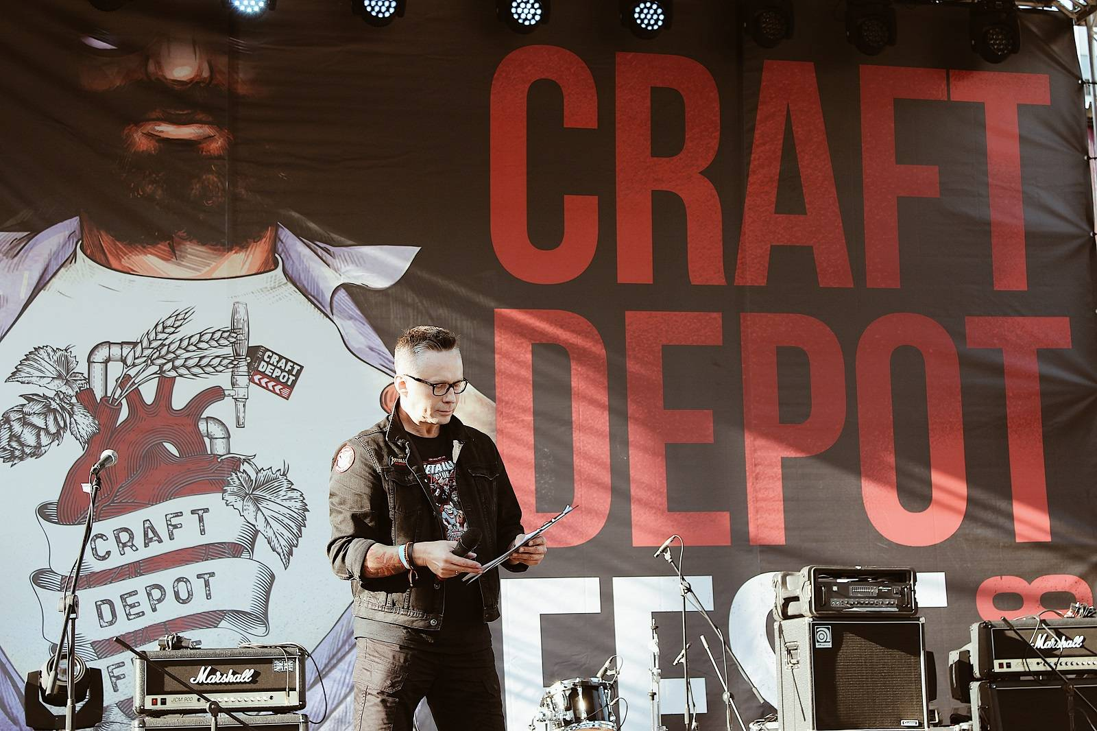 CRAFT DEPOT FEST 2018 Flacon- Stone Forest