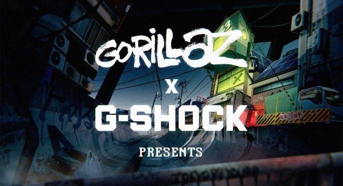 Casio G-SHOCK x GORILLAZ - Stone Forest