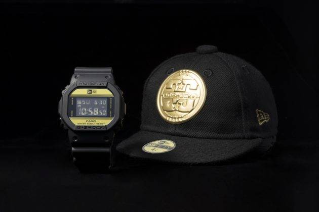 Коллаборация Casio G-SHOCK x NEW ERA - Stone Forest