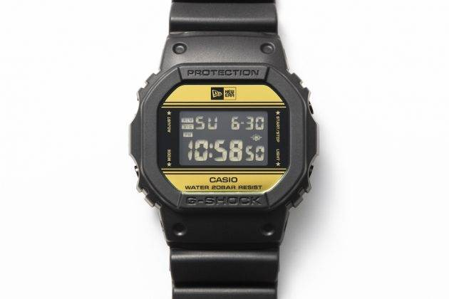 Премьера Casio G-SHOCK x NEW ERA - Stone Forest