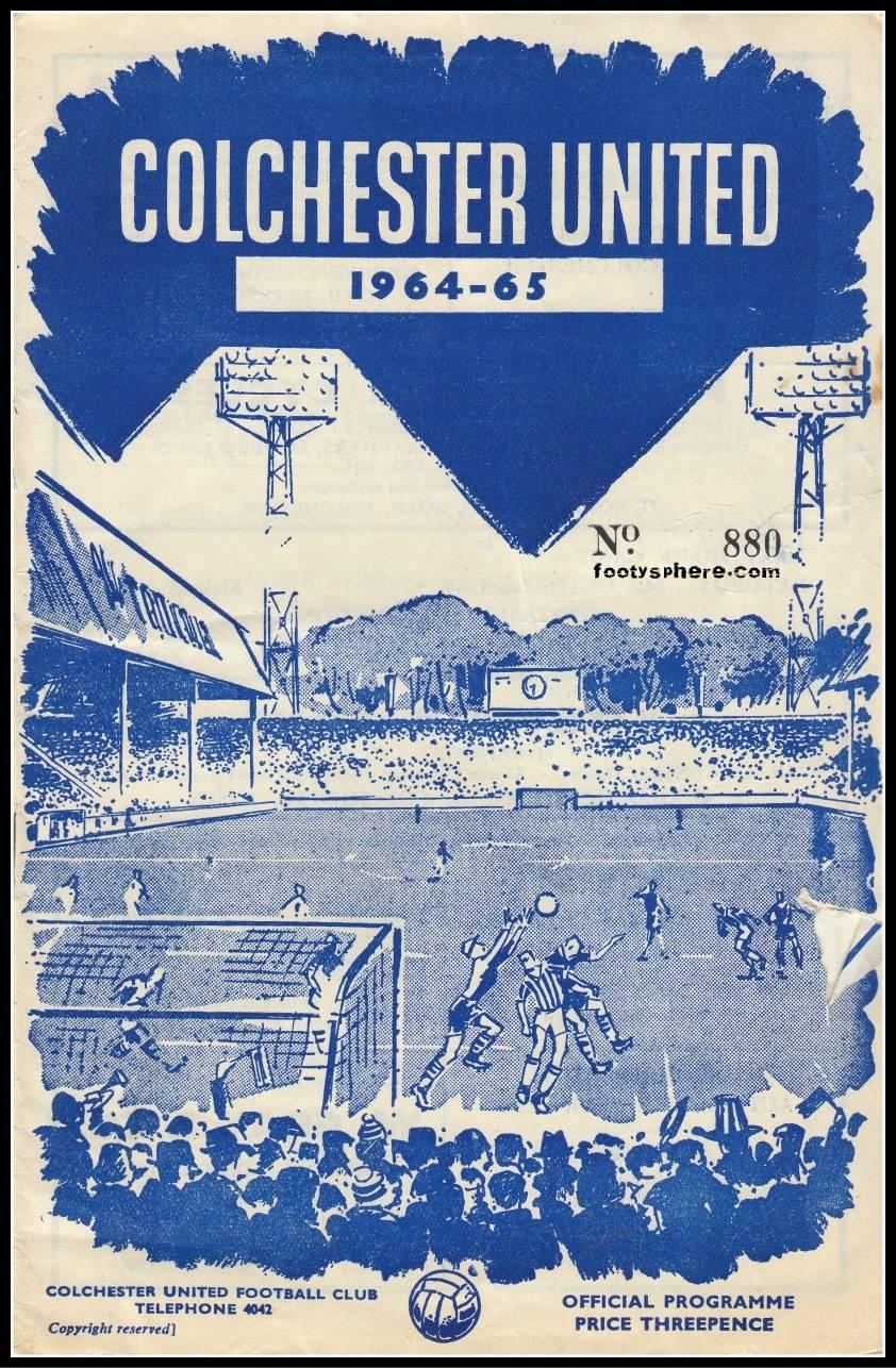 Программка Колчестер Юнайтед - Stone Forest