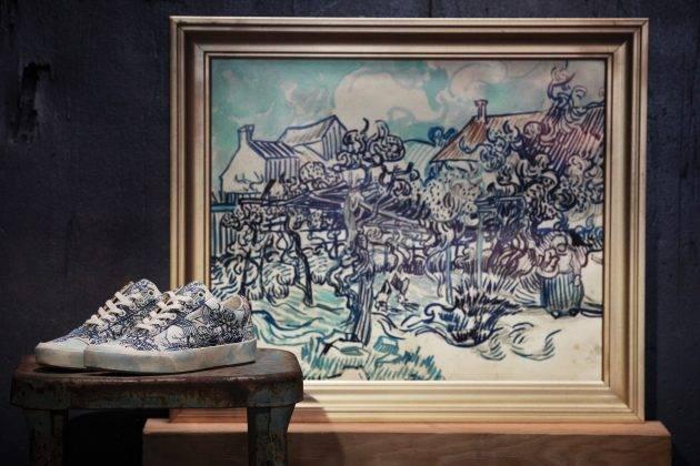 Кеды Vans x Van Gogh Museum - Stone Forest