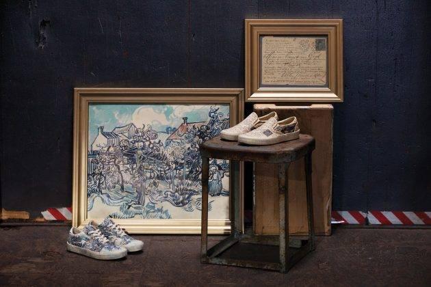 Релиз Vans x Van Gogh Museum - Stone Forest
