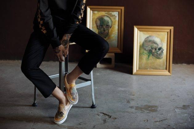 Сотрудничество Vans x Van Gogh Museum - Stone Forest
