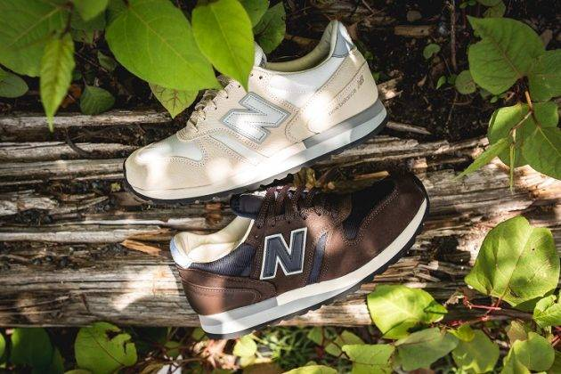 Norse Projects x New Balance - Stone Forest