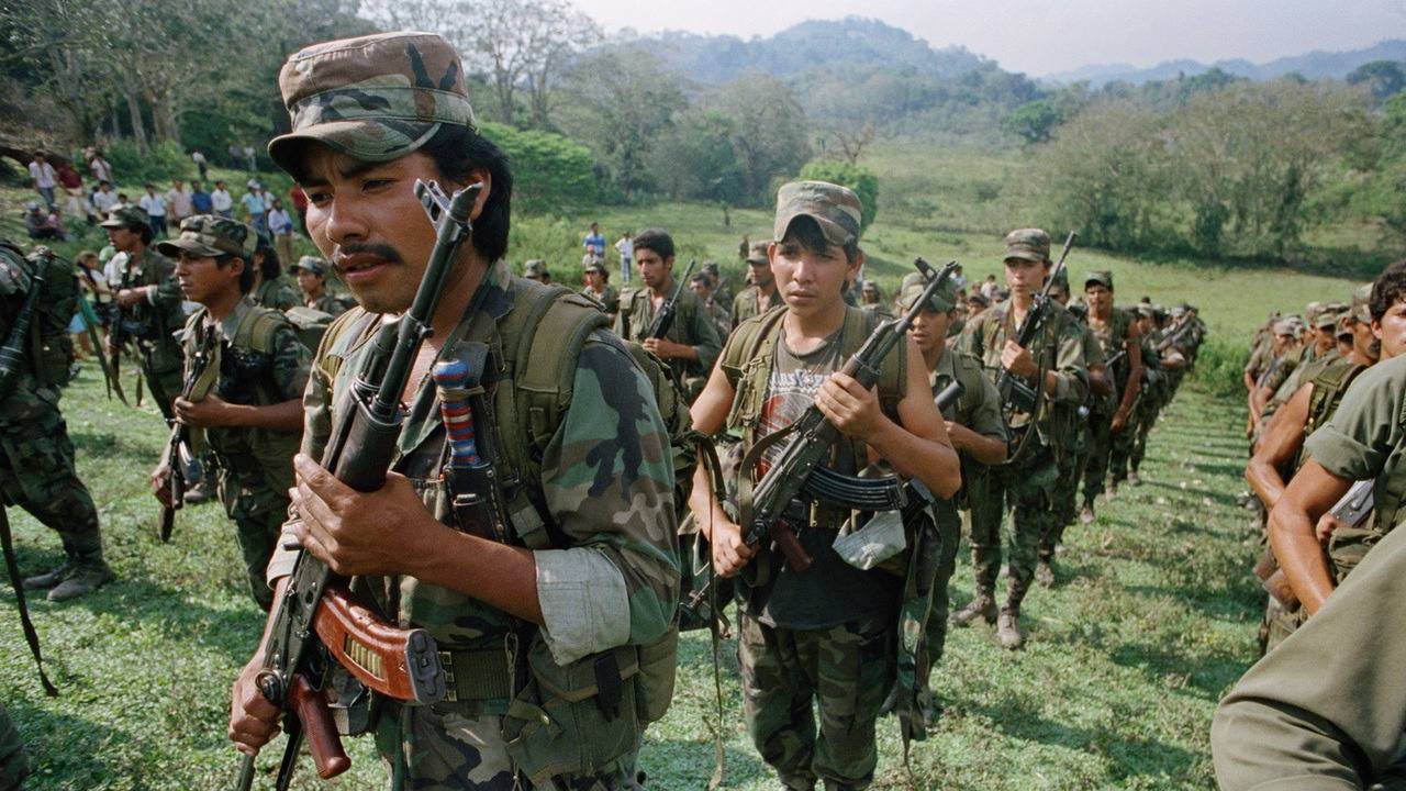 Contras Контрас из Никарагуа - Stone Forest