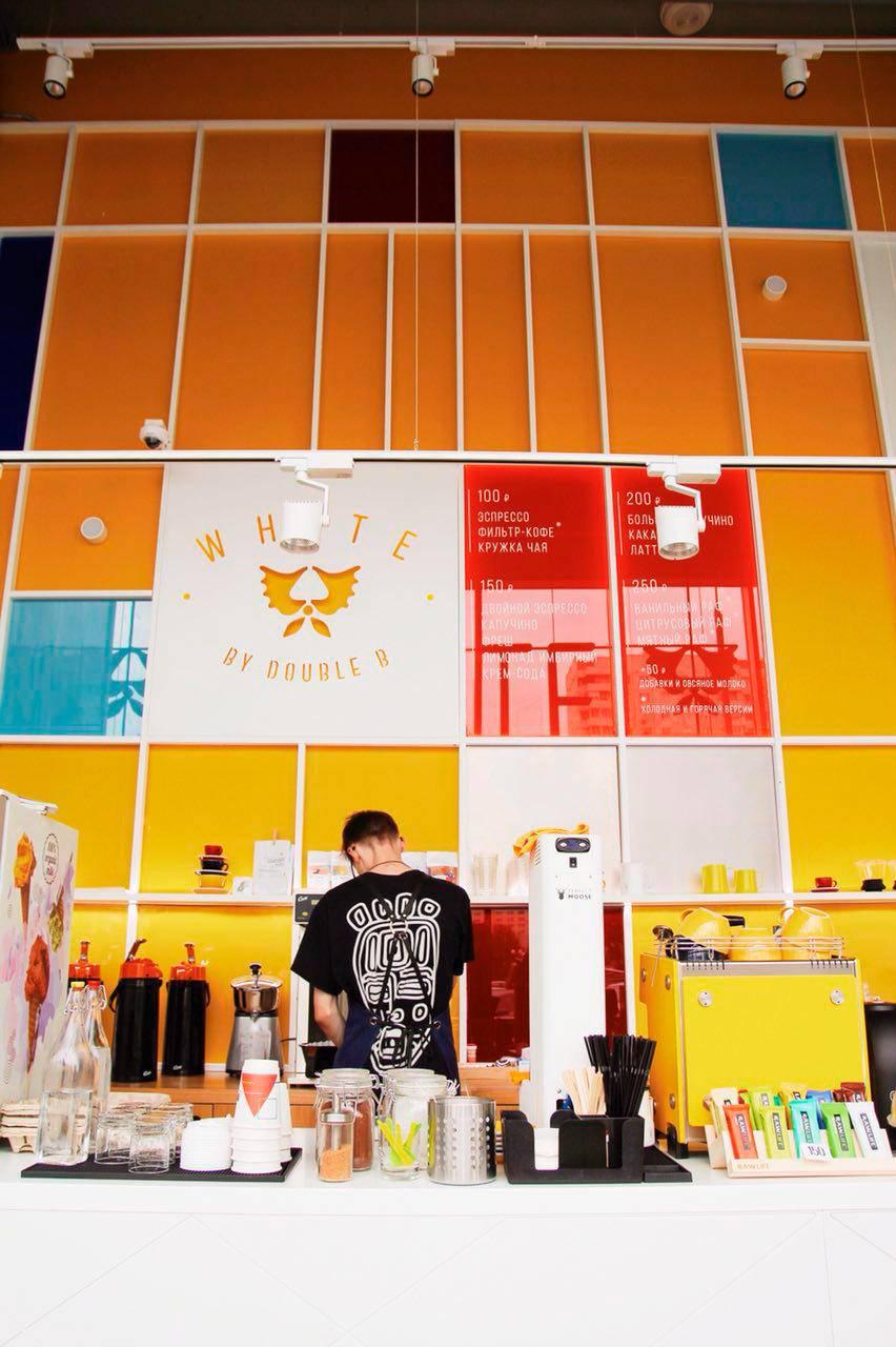 Даблби White - новый формат знаменитой кофейни