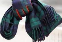 Шотландский шарф в клетку - Stone Forest