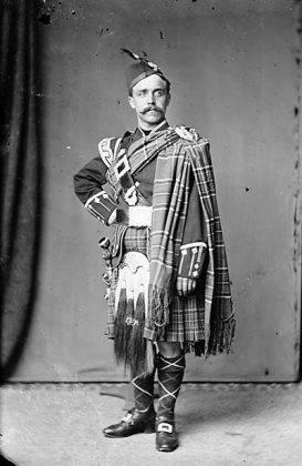 Шотландский костюм в клетку - Stone Forest
