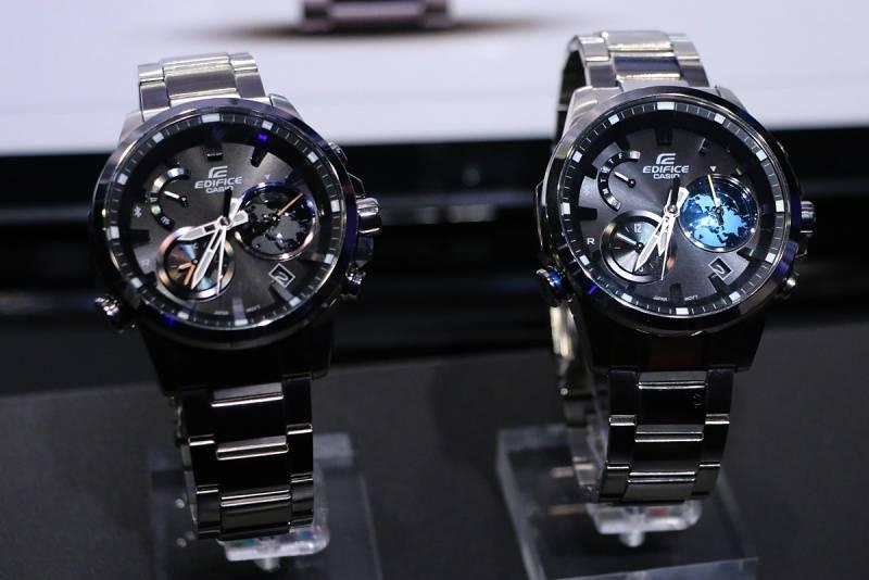 Часы Casio Edifice EQB-600 - Stone Forest