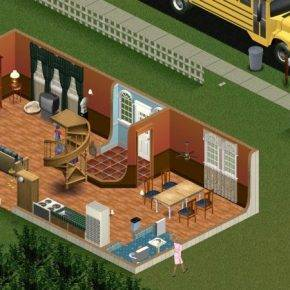 Игра THE SIMS 2000 - Stone Forest