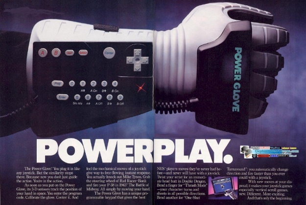 Power Glove - Stone Forest