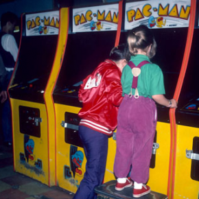 Игра PAC-MAN 1980 - Stone Forest