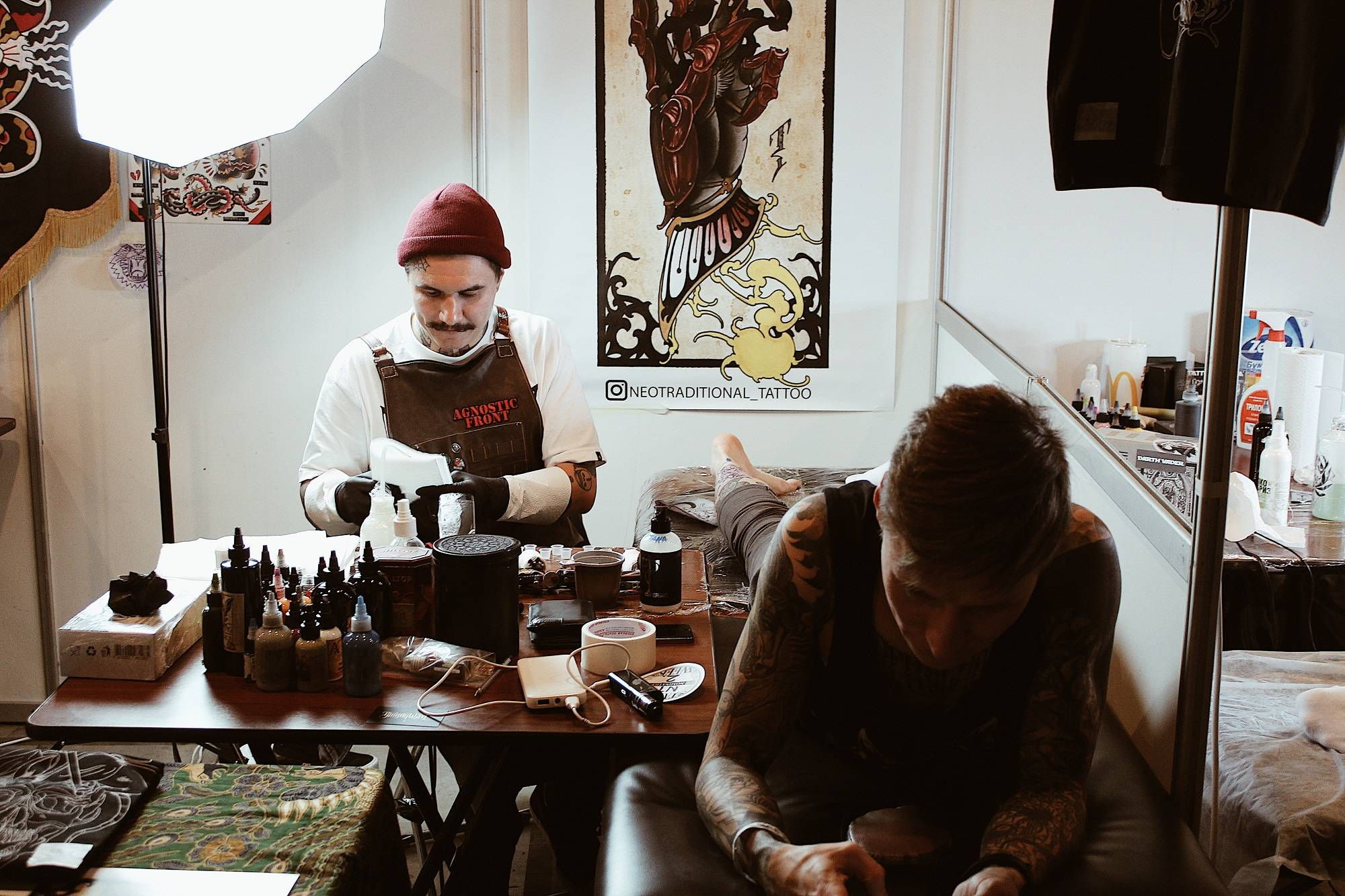 Тату фест International Moscow Tattoo Week 2018 - Stone Forest