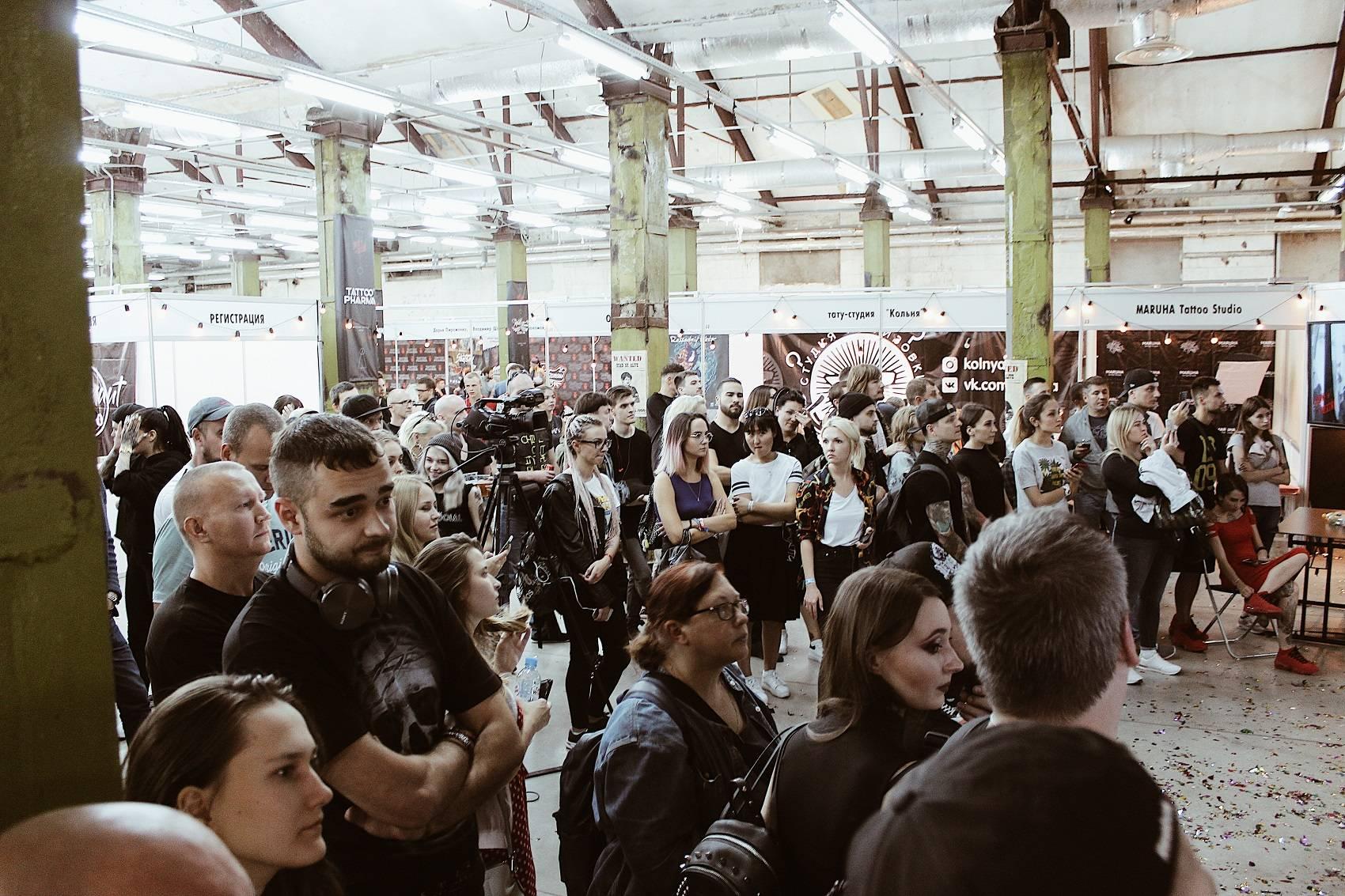 Тату фестиваль International Moscow Tattoo Week 2018 - Stone Forest
