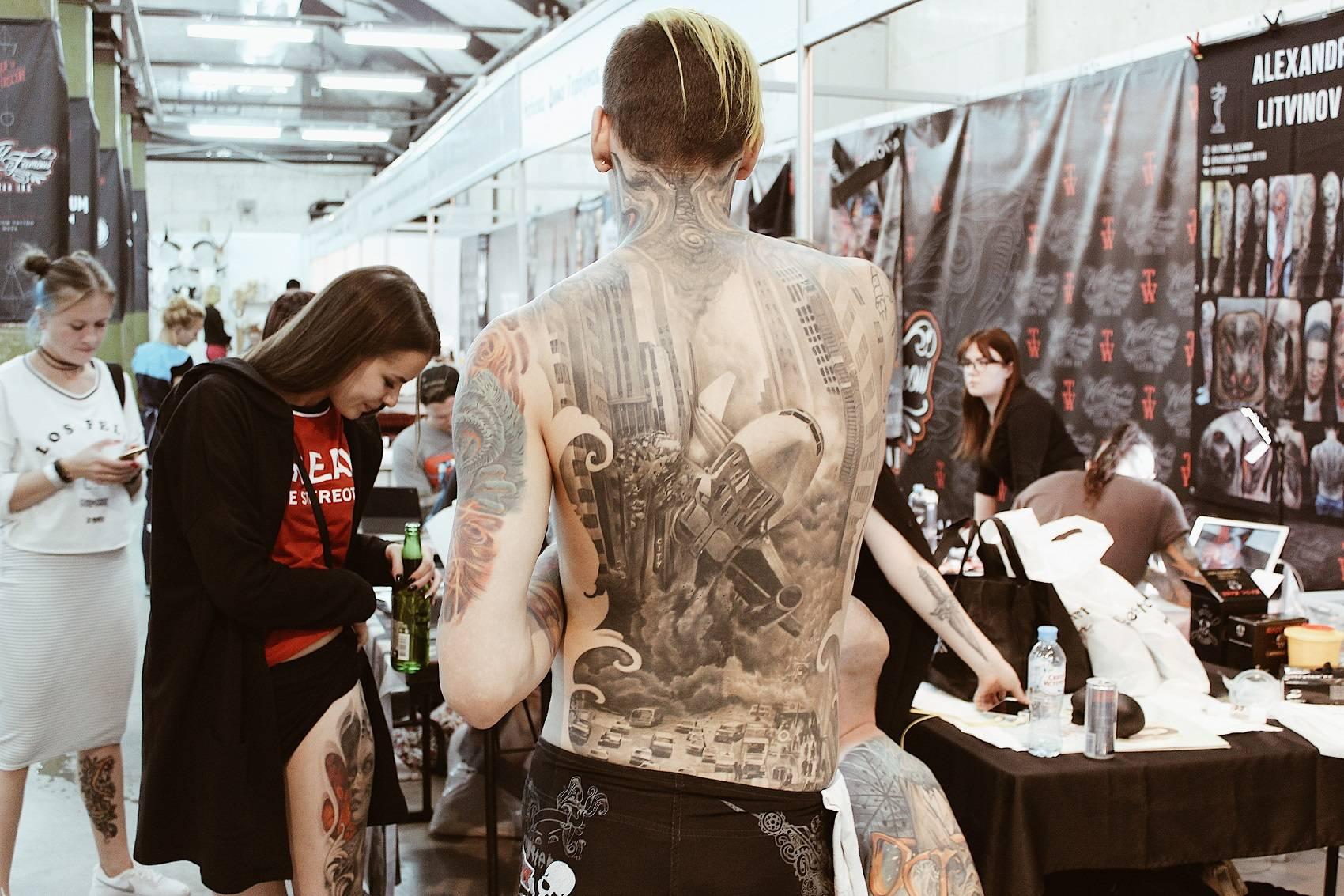 International Moscow Tattoo Week - Stone Forest