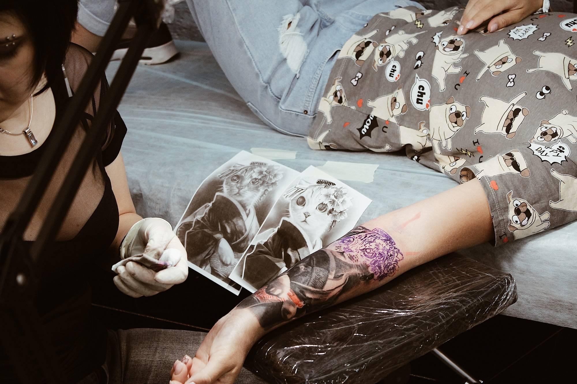 Фестиваль International Moscow Tattoo Week 2018 - Stone Forest
