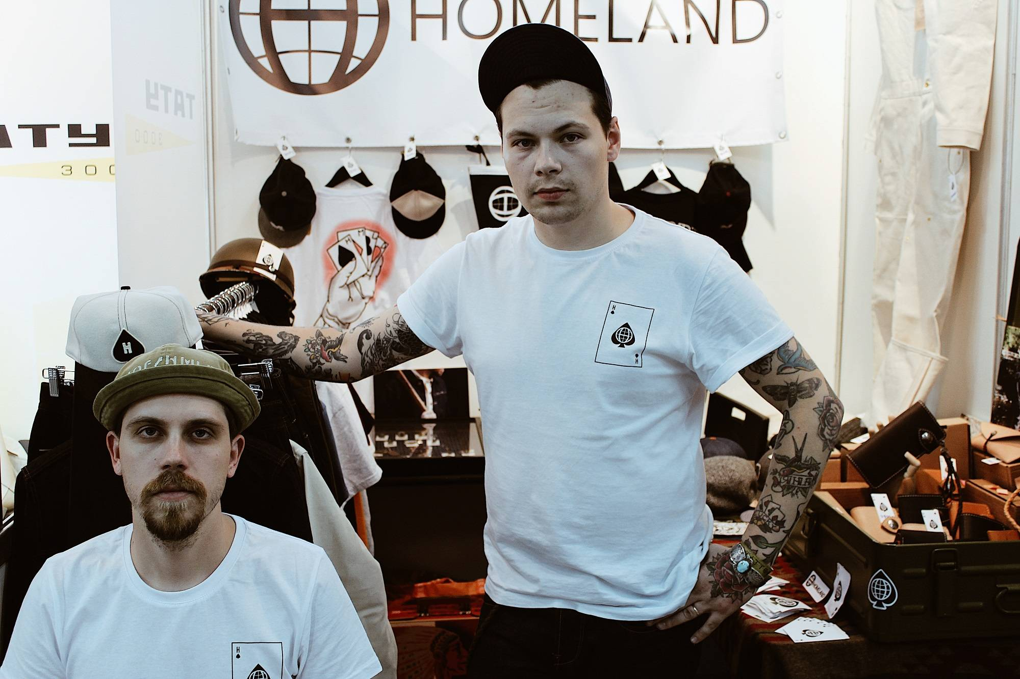 Тату International Moscow Tattoo Week 2018 - Stone Forest