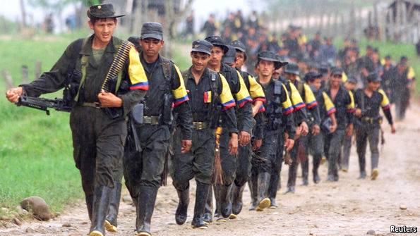 Гражданская война в Колумбии - Stone Forest