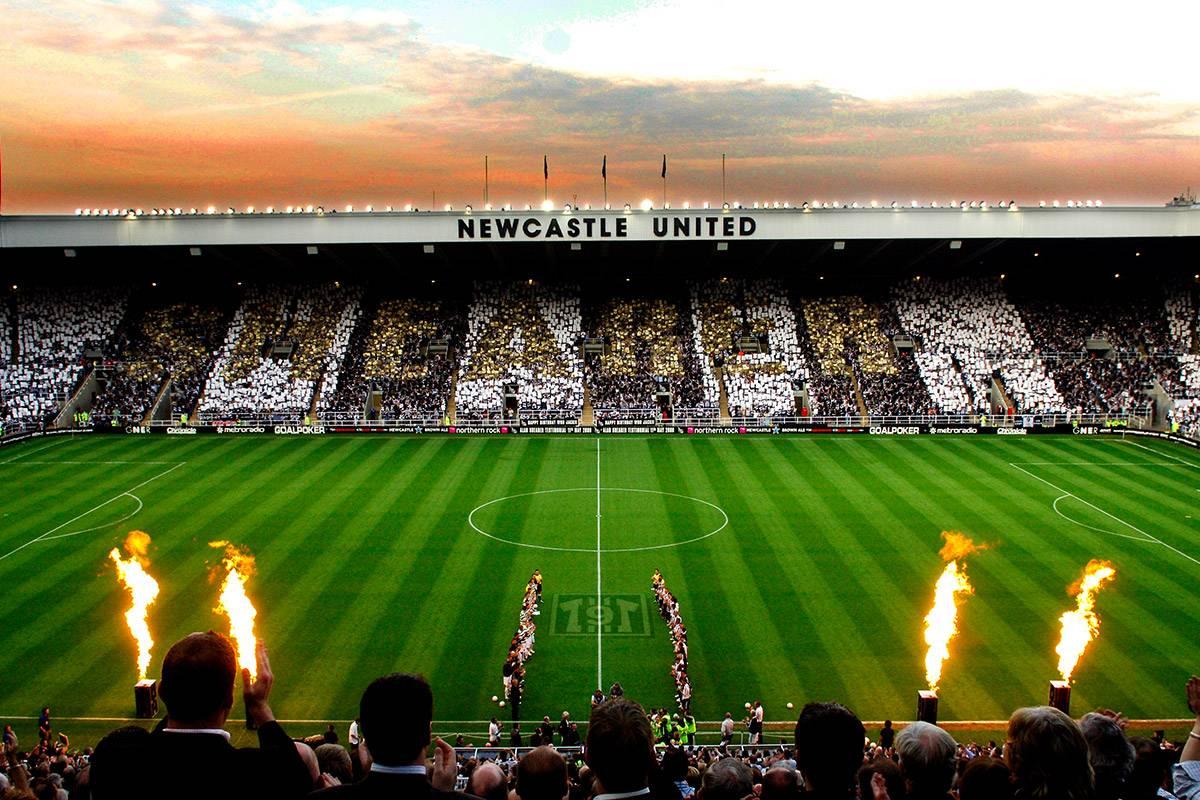 Стадион Ньюкасл Юнайтед - Stone Forest
