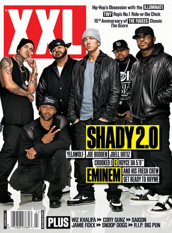 XXXL Magazine Shady Records - Stone Forest