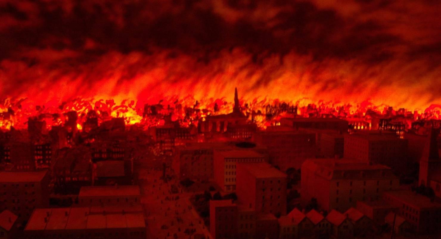 Великий чикагский пожар - Stone Forest