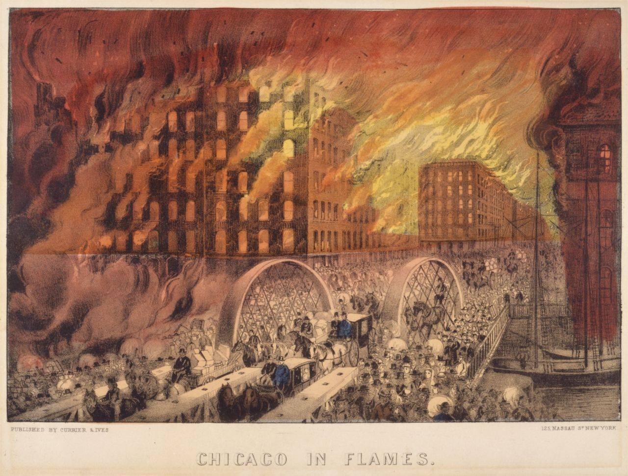 Пожар в Чикаго - Stone Forest