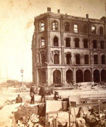 Последствия Пожара в Чикаго 1871 - Stone Forest