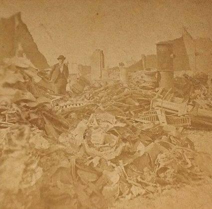 Последствия Пожара в Чикаго - Stone Forest